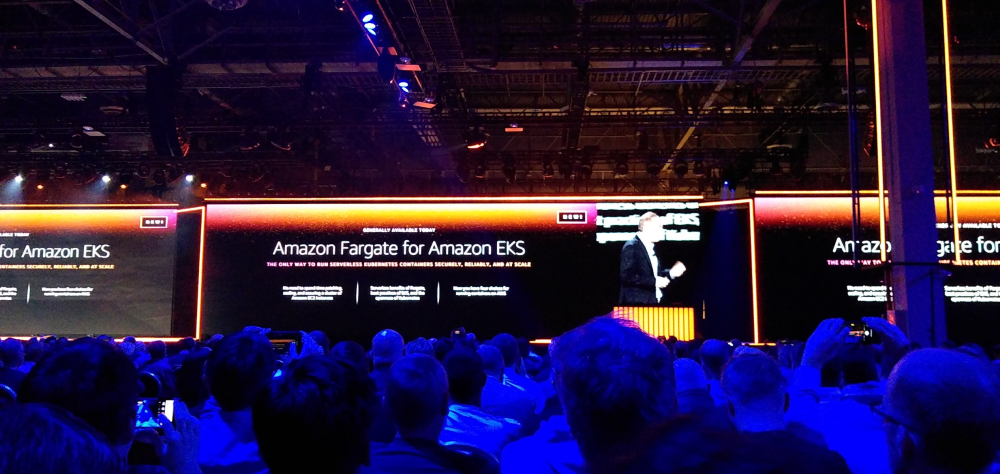Amazon EKS on AWS Fargate
